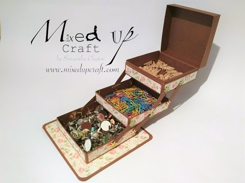 How to make a jewellery/storage  box