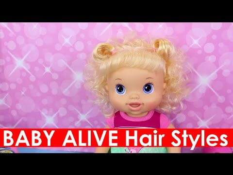 baby alive hair styles with beautiful