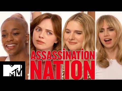 Assassination Nation Cast Play Never Have I Ever | MTV Movies