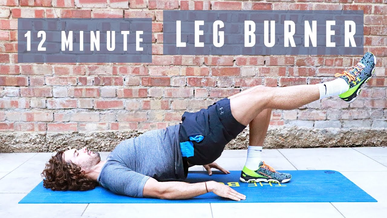 WATCH: The 12-Minute Leg Workout You Can Do At Home