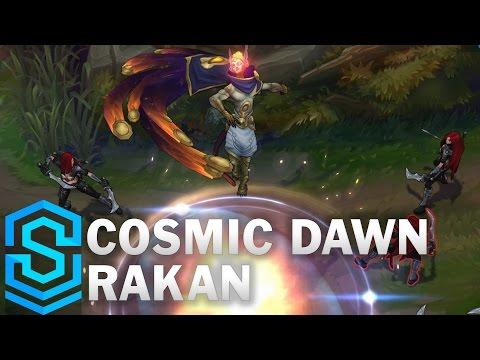 Cosmic Dawn Rakan Skin Spotlight - Pre-Release - League of Legends