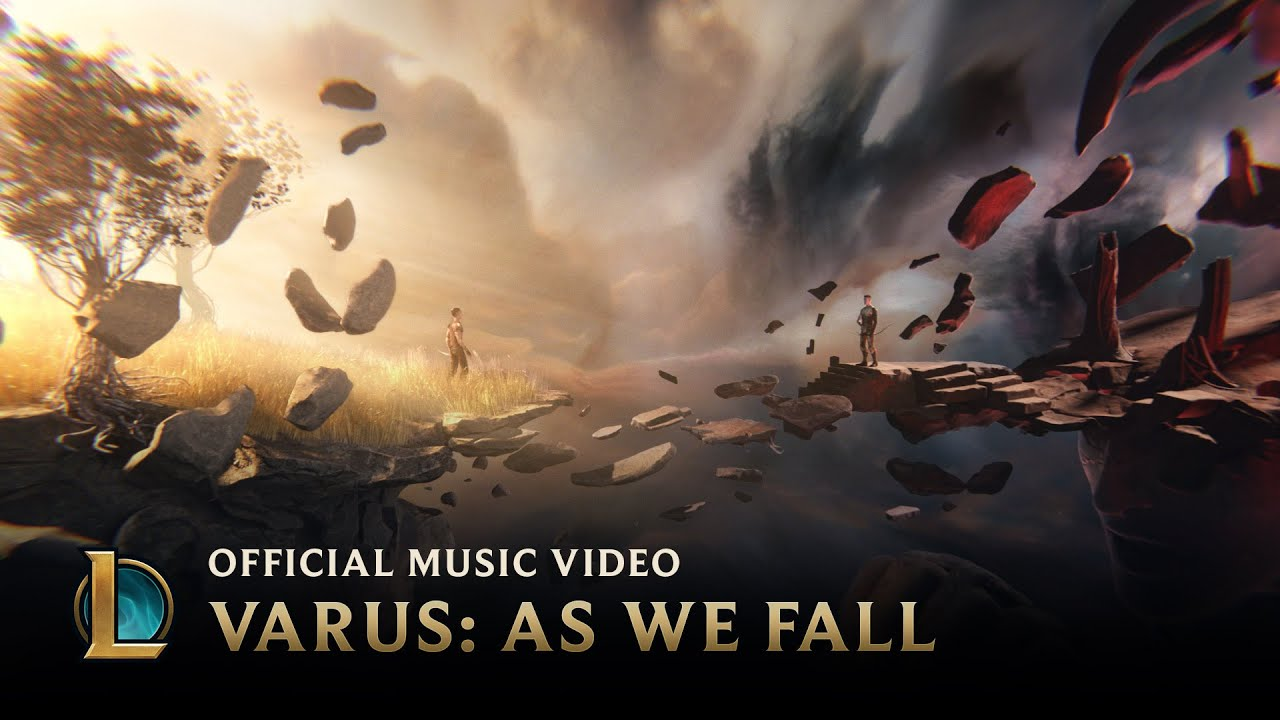 Varus: As We Fall [OFFICIAL MUSIC VIDEO] | League of Legends Music #1