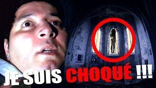 UN FANTÔME APPARAÎT DANS L'ÉGLISE LA PLUS HANTÉE DE FRANCE ? (Chasseur de Fantômes) PARANORMAL