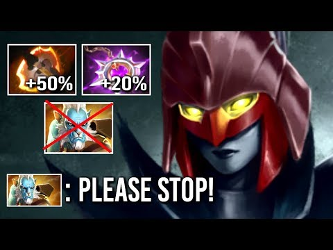 How To DELETE Lancer EZ! Battle Fury Phantom Assassin Crazy 70% Cleave vs Illusions WTF Dota 2
