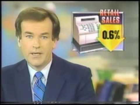 Bill O'Reilly Hosting ABC News Business Brief - 1987