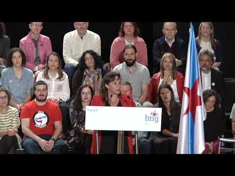 #ENA2019 - Intervención de Ana Miranda, candidata ao Parlamento Europeo