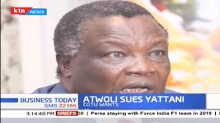 Cotu secretary general Francis Atwoli sues Cs over NSSF seat