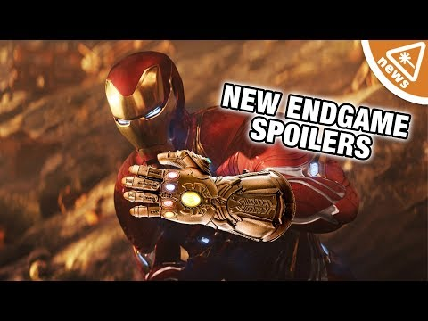 Does New AVENGERS: ENDGAME Footage & Toys Confirm a Major Theory? (Nerdist News w/ Jessica Chobot)