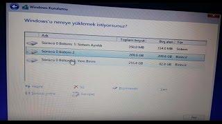 Windows 8.1 Format Nasıl Atılır 2. Video