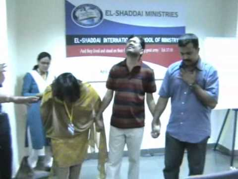 El-Shaddai International School of Ministry, Bangalore.wmv