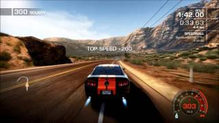 Need For Speed Hot Pursuit - Time Trial - Sidewinder