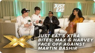 Just Eat's Xtra Bites | Max and Harvey, Martin Bashir and Yorkshire Puddings
