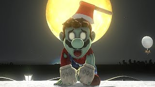 Super Mario Odyssey - Zombie Outfit Gameplay (DLC Showcase)