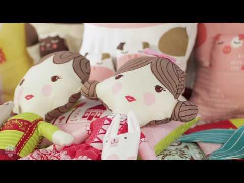Fabric Doll Showcase by Stacy Iest Hsu - Fat Quarter Shop