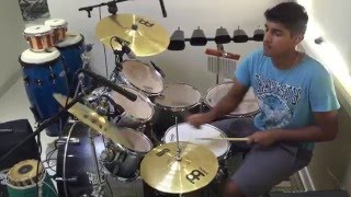 Dastaan-E - Om Shanti Om Drum Cover by Amrith Nagaraj