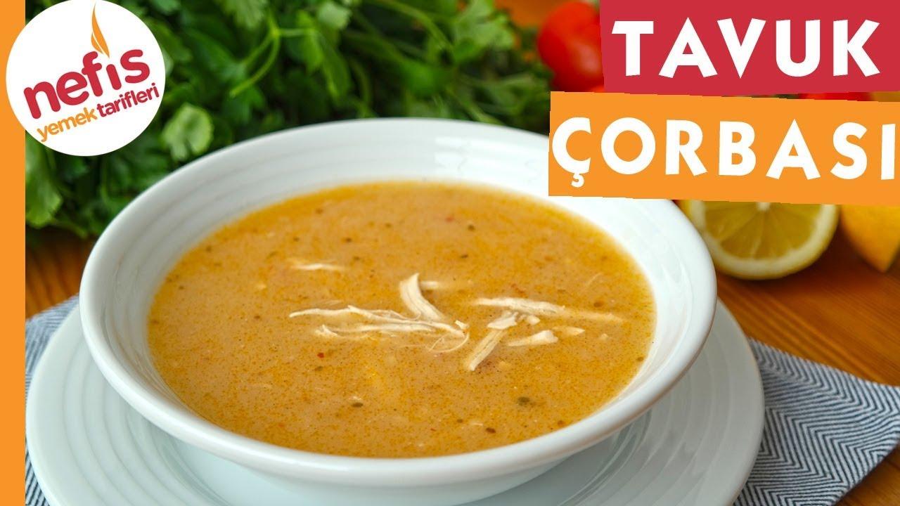 Terbiyeli Tavuk Çorbası - Garantili Lezzetler - Nefis Yemek Tarifleri