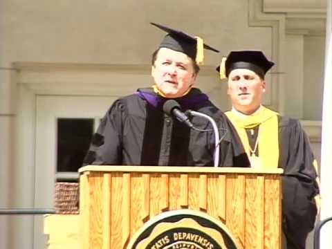 May 2013 - Justice Randall T. Shepard Receives Honorary Doctorate from DePauw University