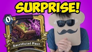 One of Disguised Toast's most viewed videos: Disguised Toast SURPRISES at Major Hearthstone Tournament