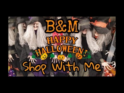 B&M Halloween - Shop With Me - Filmed 12th Oct 2018