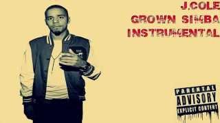 J.Cole Grown Simba Instrumental