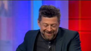 Caesar Phones Gollam Andy Serkis Reprises Dawn of The Planet of The Apes Role