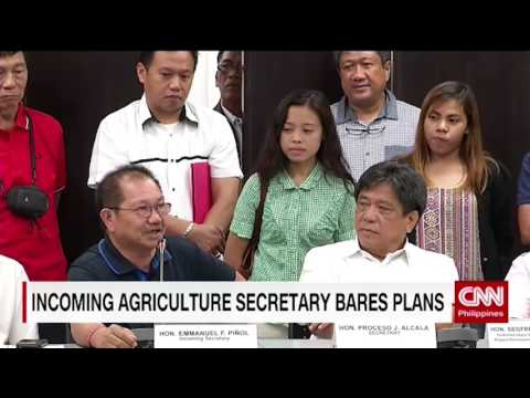 Incoming Agriculture secretary bares plans