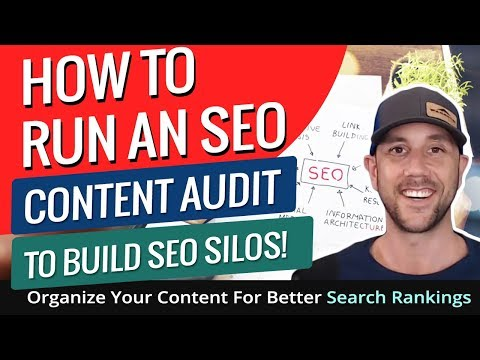 How To Run An SEO Content Audit To Build SEO Silos! Organize Your Content For Better Search Rankings - 동영상