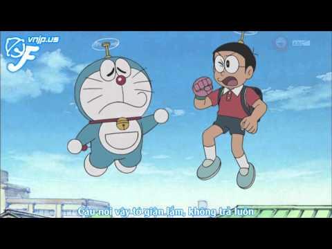 Doraemon – Doraemon Tập 408  Cắt Một Miếng Đại Dương; Bao Tay Tiếp Xúc; Ba Ngày Đói Bụng Của Nobita