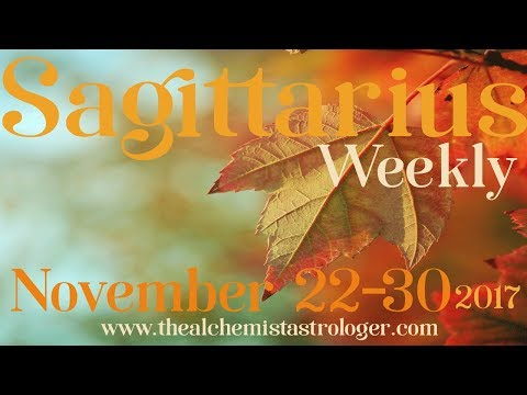 "Sagittarius November 22-30 2017/Week 4 General Tarot Reading - ""Open secret"""