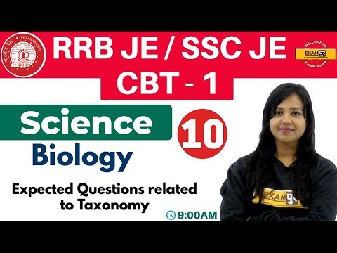 Class-10 ||#RRB JE/SSC JE/CBT-1 || Science || Biology| By Amrita Ma'am || Expected Question Taxonomy