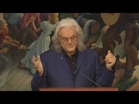 Ricky Skaggs – 2018 Country Music Hall of Fame Induction