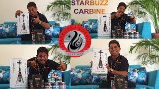 STARBUZZ CARB NE HOOKAH  SH SHA 3S XTY FLAVOUR BEST QUAL TY HOOKAH FOR EVERYWHERE