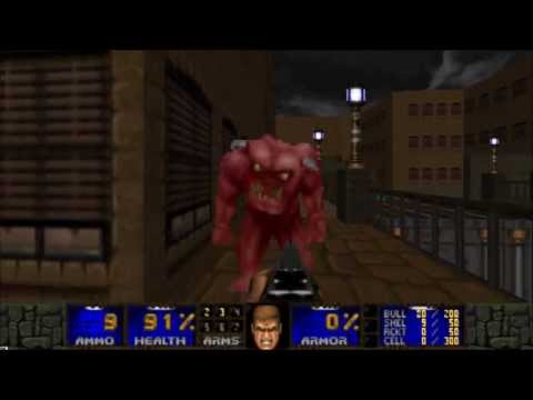 """[DOOM 2] Hellbound - MAP02 """"Canal Road"""" UV-Max"""