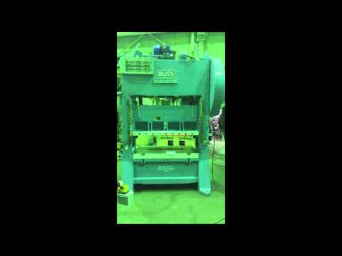 Used 100 Ton Press • Bliss S2-100-60-36