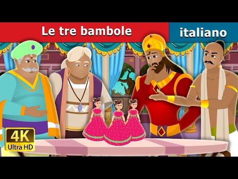Le Tre Bambole   Three Dolls Story   Storie Per Bambini   Fiabe Italiane