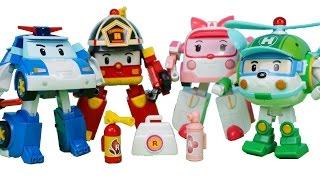 로보카폴리 장난감 변신…