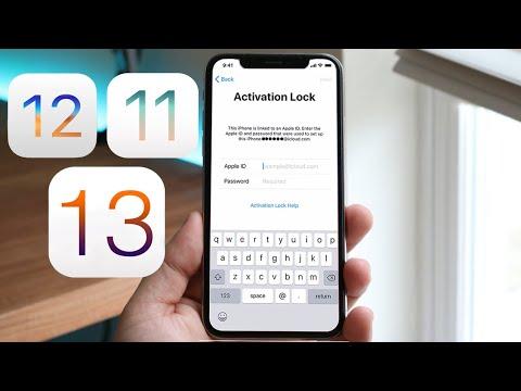 *STILL WORKS* Bypass iOS 13 iCloud/ No Sim Card Lock (iOS 13, iOS 12, iOS 11)
