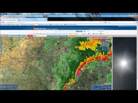 4/3/2012 -- HAARP ring Scalar Square Sawtooth outbreak = watch TX, LA, OK, KS, MO