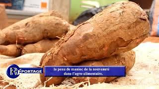 #Reportage Au Sujet De La #peau De #manioc Sur #Agri-#TV.