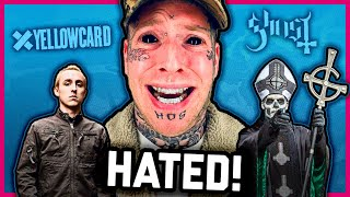 MOST HATED ARTISTS: Tom MacDonald, Yellowcard, Ghost (vol 8)
