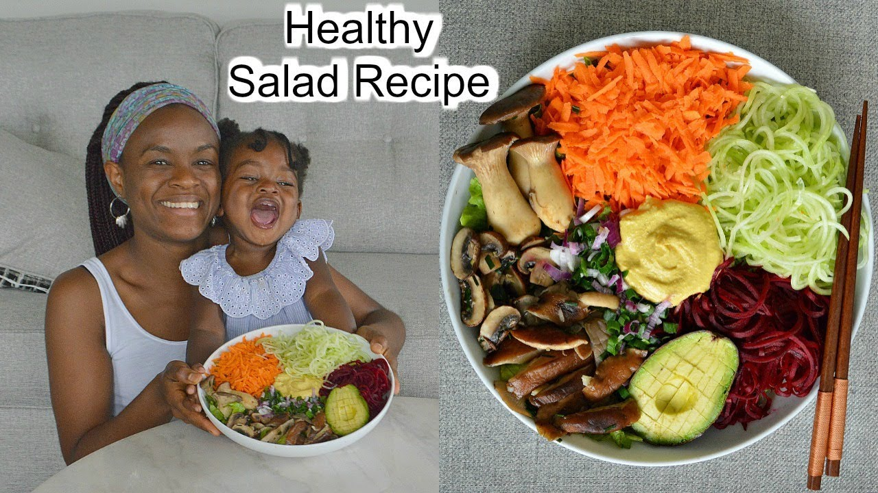 Delicious & Healthy Salad Recipe + Food shopping at the Farmers Market