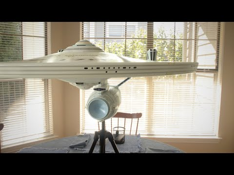 USS Enterprise NCC 1701-A Model 'prop' (CGI)