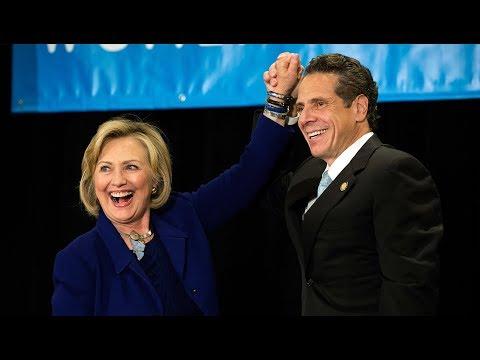 Hillary Clinton Endorses Andrew Cuomo