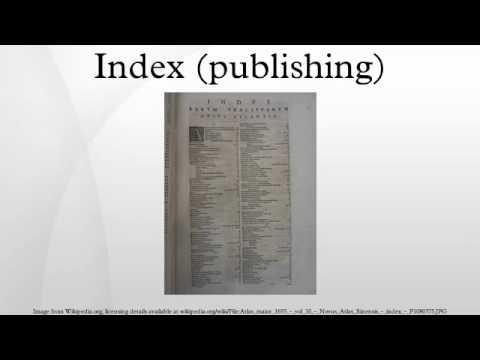 Index (publishing)