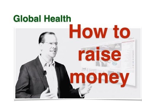 How to get funding for your public health project.