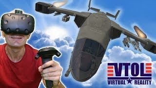 TOP GUN IN VIRTUAL REALITY | VTOL VR HTC Vive & TPCAST Gameplay - Realistic Air Combat Flight Sim
