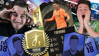 FIFA 18: SIF Firmino (87) 😍 SQUAD BUILDER BATTLE vs TimoX feat. WL Starterpaket 😡