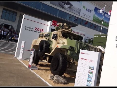 Zhuhai AirShow 2016 China Chinese defense industry land army military equipment  day 4