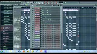 Farruko Ft Daddy Yankee - Gatas, Bocinas y Bajo Remake (FL Studio 9)