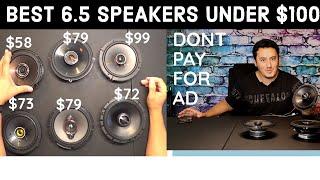 Top 6 best 6.5 speakers By Sales rank Alpine S-S65 KICKER 47Kc Pioneer TS-A1680F JBL  GX628 Kenwood